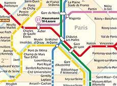 Mapas Y Planos De Transporte En Paris